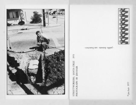 JimHairPostcardStreetworkersSantaCruz1973